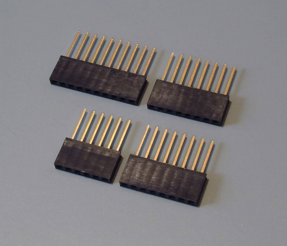 Connectors for arduino uno r shields awesome pcb