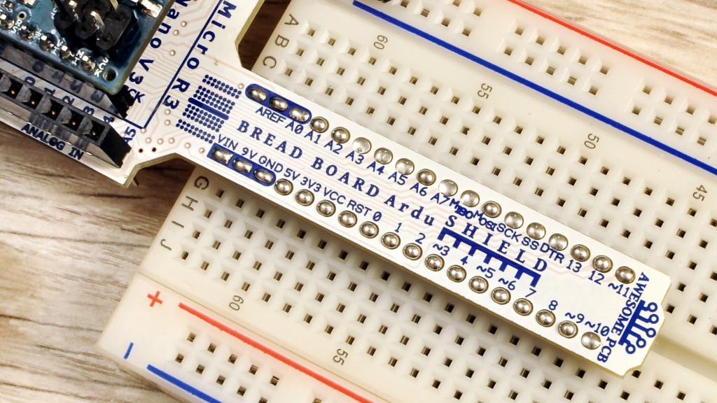 Move Arduino pins to bread board